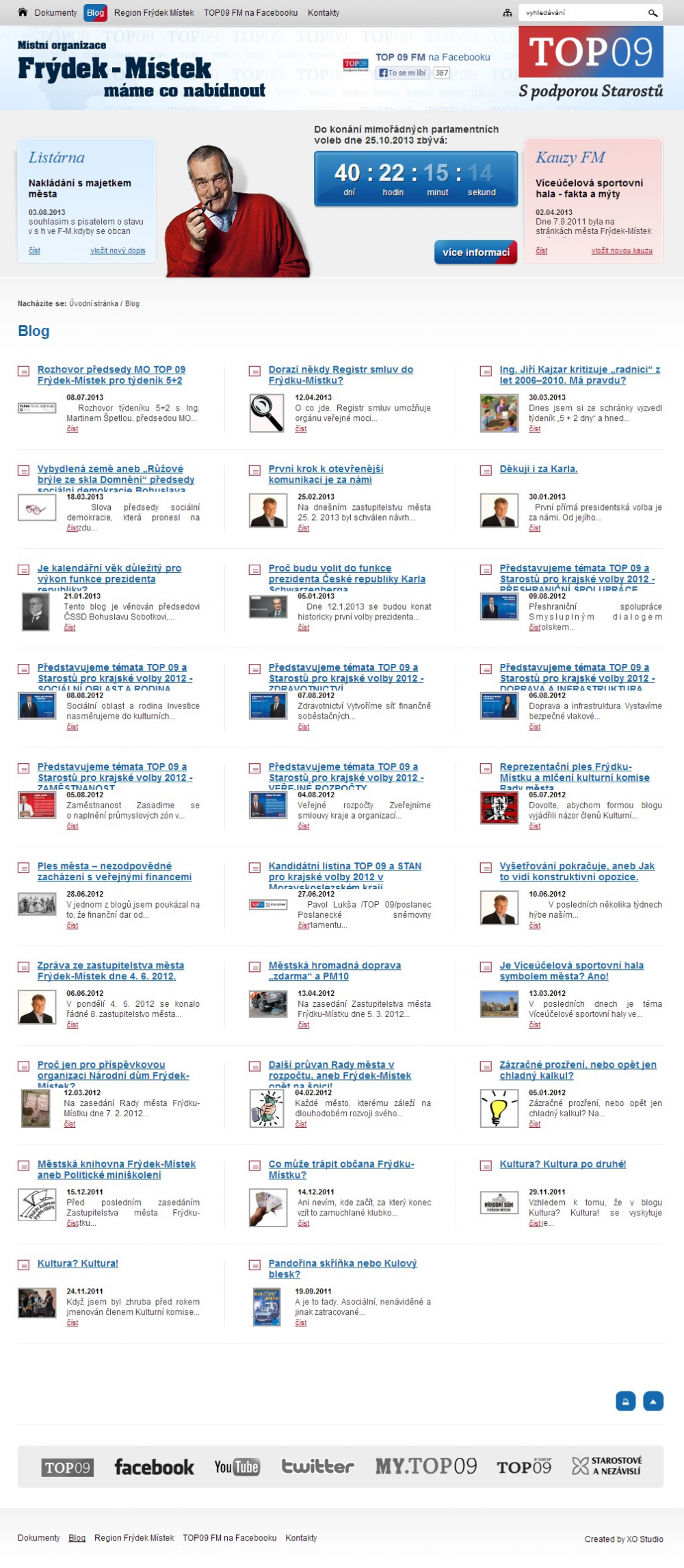 TOP09 Frýdek Místek - Blog