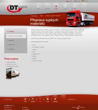 Přepravní společnost DT Logistic CZ s.r.o. - Přeprava sypkých materiálů