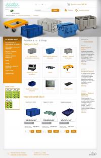 E-Shop Plastové přepravky